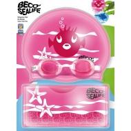 Plaukimo rinkinys BECO SEALIFE (rožinė spalva)