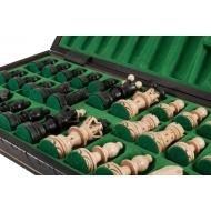 Šachmatai Ambasador 550x275x60mm, Karalius 110mm