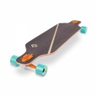 "39"" Longboardas, kinų klevas, ABEC-9 guolia Street Surfing Freeride Nordic Orange"