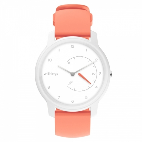 Išmanusis laikrodis Withings Move (38mm) - White / Coral