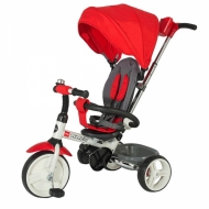 Vaikiškas triratis 2in1 paspirtukas - dviratukas Coccolle Urbio - Red