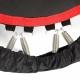 Fitneso batutas su rankena ir skaičiuoklė inSPORTline Profi Digital PRO 140 cm