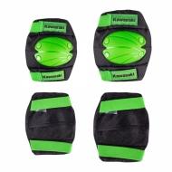 Vaikiškas apsaugų komplektas Kawasaki Purotek - Green S