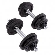 Hanteliai keič. svorio 1-10kg BODY SCULPTURE BW 780L 2vnt