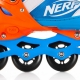 Riedučiai Spokey STRIVE mėlyni-oranžiniai