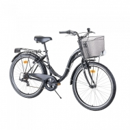 "Miesto dviratis Reactor Swan 26"" – 2021 - Black"