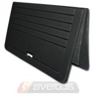 Aerobikos kilimėlis Sveltus Foldable juodas