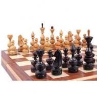 Šachmatai Debiut 500x250x60mm, karalius 120mm