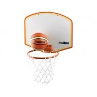 Vaikiška krepšinio lenta su tinkleliu ir kamuoliu Molten