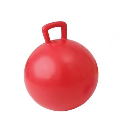 Gimnast. kamuolys su rankena JUMPING BALL 55cm