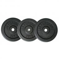 Svoriai plieninis inSPORTline 10,15,20 kg