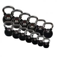 Giros gumuotos inSPORTline Ketlebel 4-40 kg