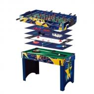 Universalus žaidimų stalas WORKER 13 in 1 Supertable