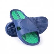 Šlepetės Spokey ORBIT, mėlyna/žalia