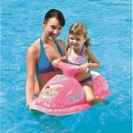 Pripučiamas vandens motociklas, rožinis
