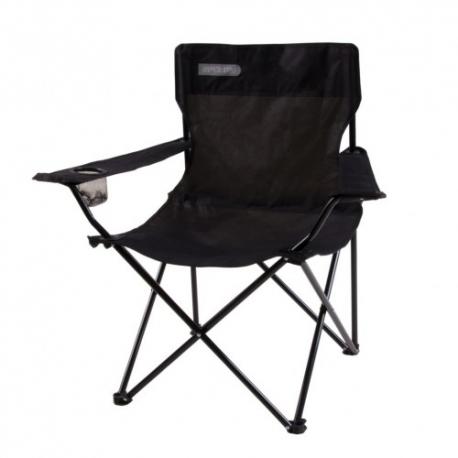 Sulankstoma kėdė ANGLER juoda