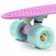 Riedlentė Skateboard Meteor Matt rožinė/mėtinė