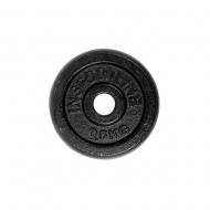 Plieninis svoris grifui 30mm inSPORTline 0.5kg