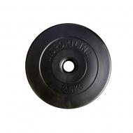 Svoris grifui su cementiniu užpildu 30mm inSPORTline 2.5kg