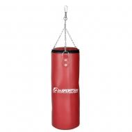 Vaikiškas bokso maišas inSPORTline 65/25 15kg (raudonas)