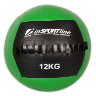Kimštinis svorinis kamuolys inSPORTline WallBall 12kg
