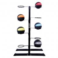 Universalus stovas kamuoliams inSPORTline Ballrack H150 (10vietų)