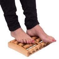 Medinė pėdų masažinė lenta inSPORTline Azaika 18x27cm