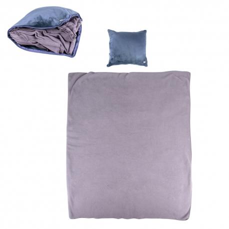 Masažinė pagalvėlė ir antklodė inSPORTline Trawel Blue