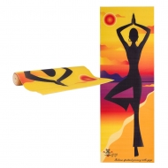 Kilimėlis jogai inSPORTline Medita Yellow Pose 173/61/0.3cm