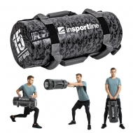 Jėgos maišas su rankenomis inSPORTline FitBag Camu 15kg