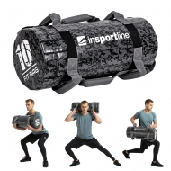 Jėgos maišas su rankenomis inSPORTline FitBag Camu 10kg