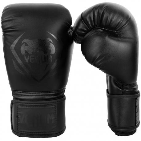16oz bokso pirštinės Venum Contender Black/Black
