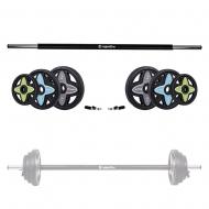 Body Pump grifo ir svorių rinkinys inSPORTline PumpStar 2 – 20kg