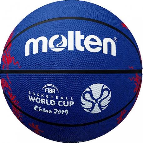 Krepšinio kamuolys MOLTEN B7C1600 FIBA WC 2019 replica
