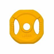 30 mm - Plieniniai svoriai padengti guma